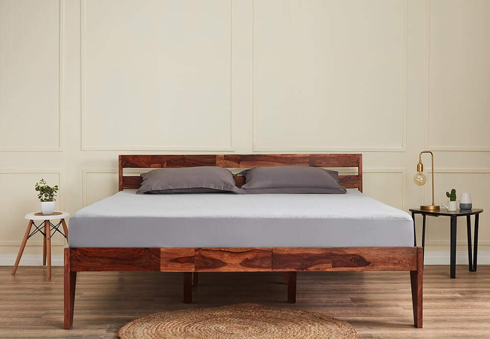 """Sheesham Wood Bed (Queen Size Bed), Double Bed"