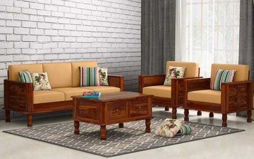 Quamos 5 seater sofa set best price 3+1+1 for Living Room