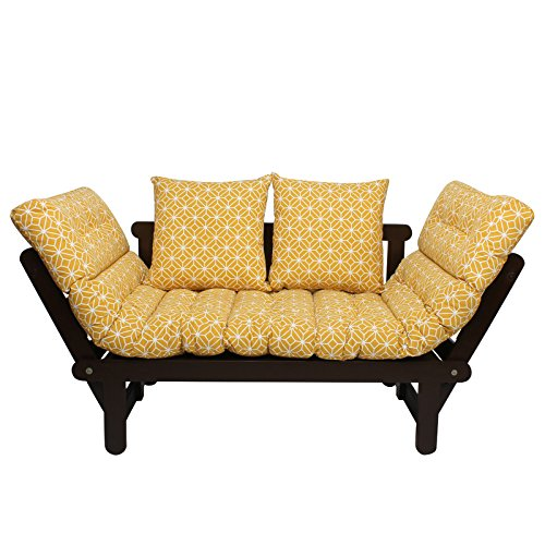 Balliya Futon Sofa Cum Bed with Mattress