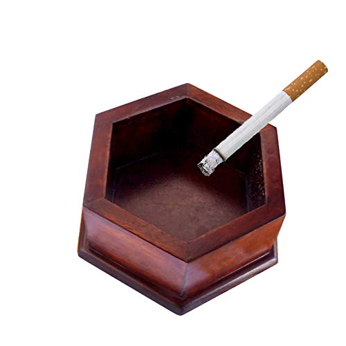 Shivak Hexagon shape Cigarette Ashtray