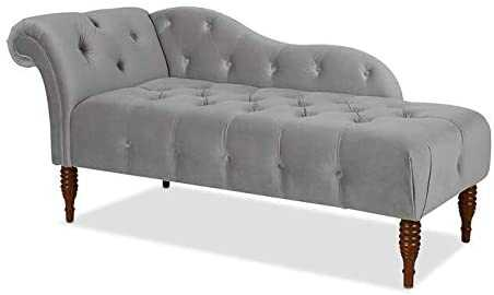 Anobna chaise lounge Living Room Bed Room(Grey)