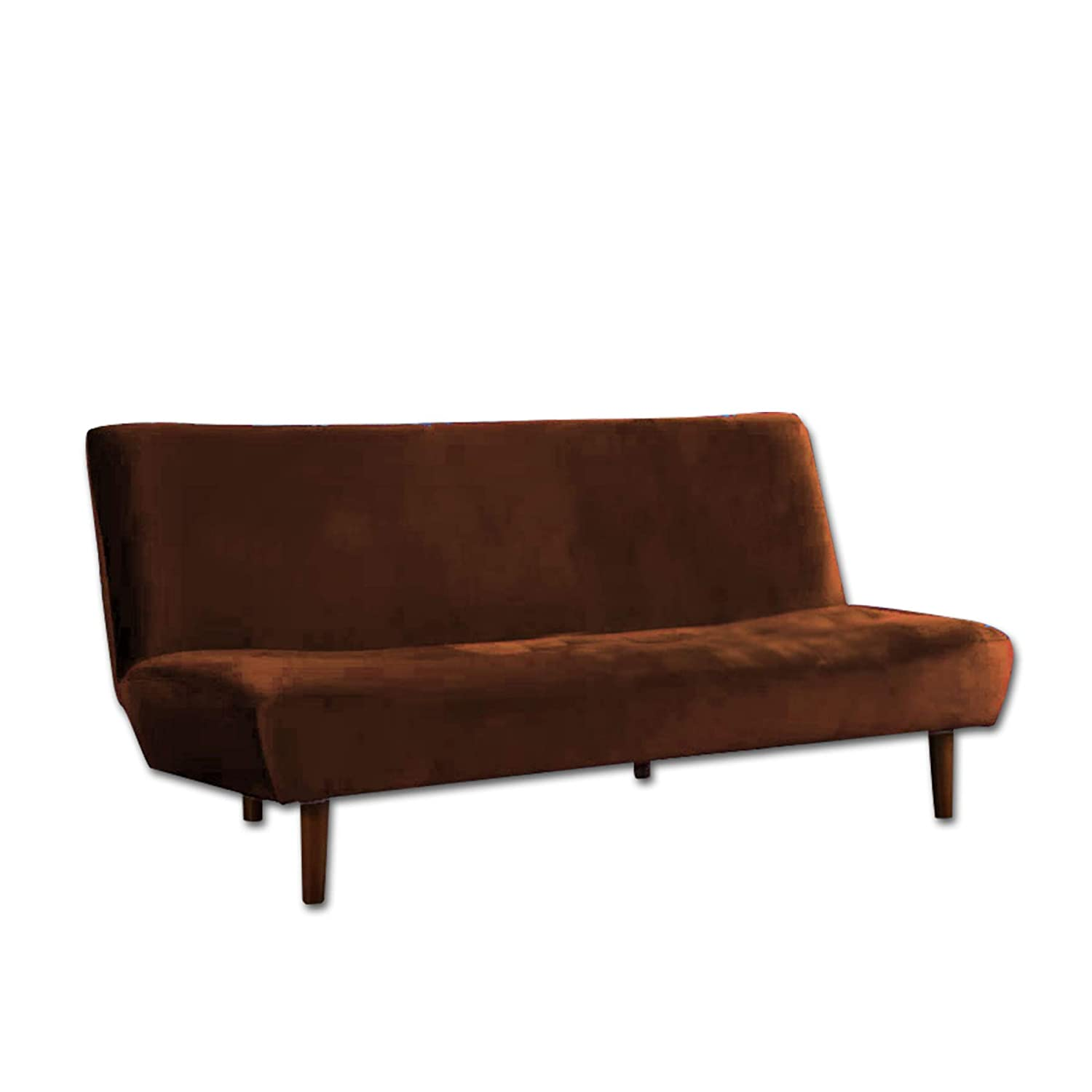 Sofa Cum Bed Three Seater Brown Color