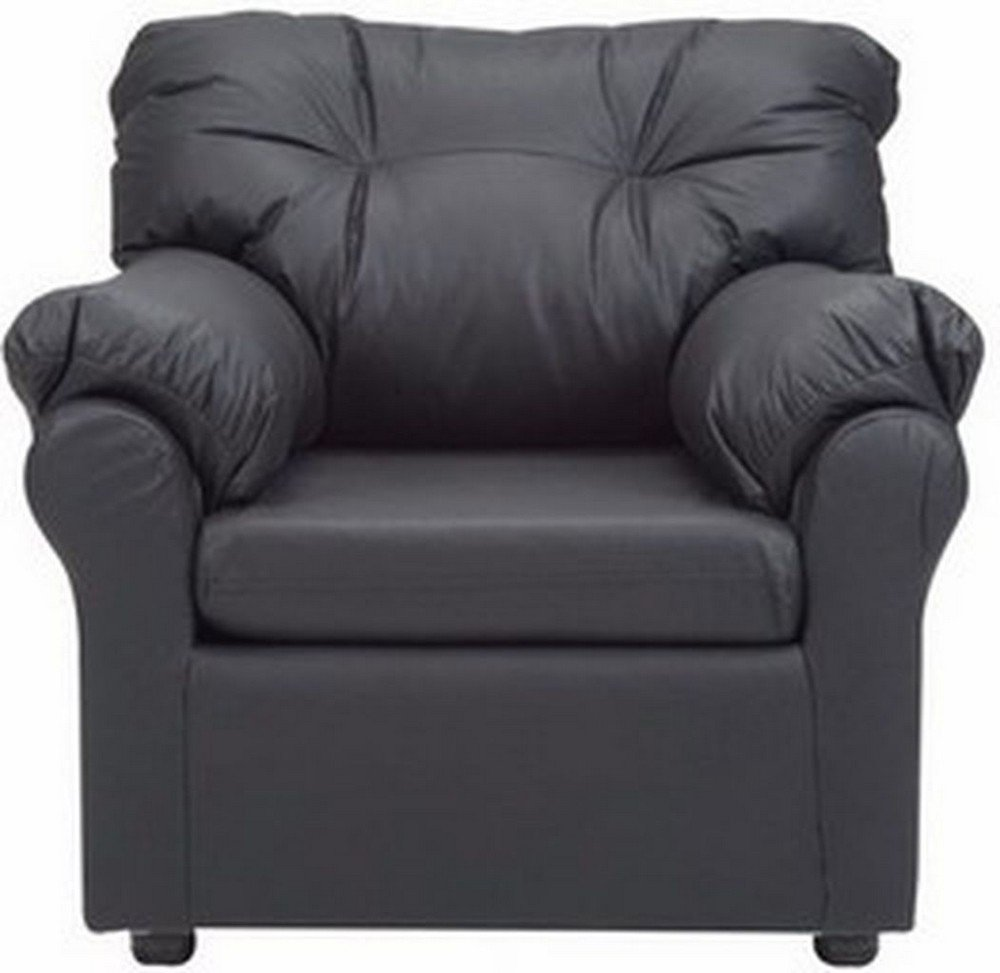 Goosing Single Seater Sofa (Black) single seater sofa for bedroom