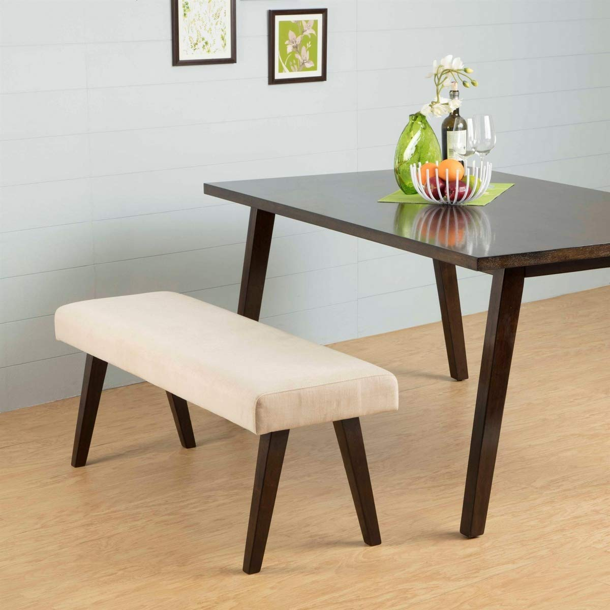 Sormic  Dining Bench (Finish : Dark Walnut) size 130x41x49 cm