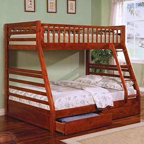 Laishi kids bunk bed with Storage Bunk Bed for Kids