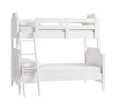 Sowooj bunk bed for girls Bunk Bed for Bedroom (White Finish) size 80x52x72 inch
