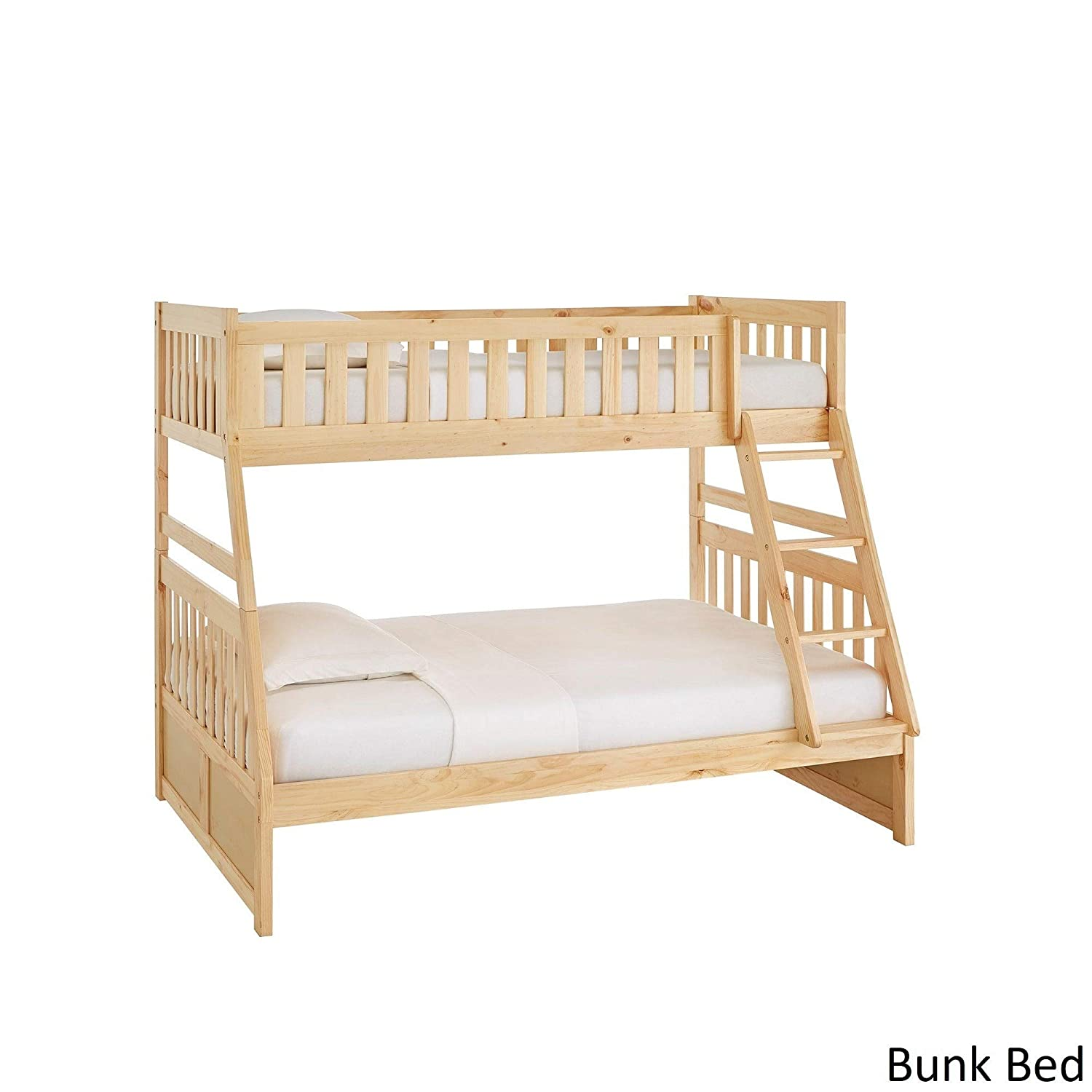 worfan BUNK Bed for Kids  with Trundle for Bedroom