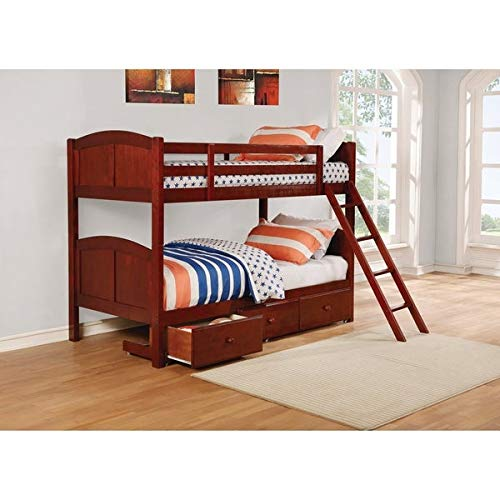 Wistoe Bunk Bed with Storage for Bedroom