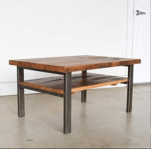 Kamir Center Tea Cocktail Coffee Table for Home (Walnut Finish)