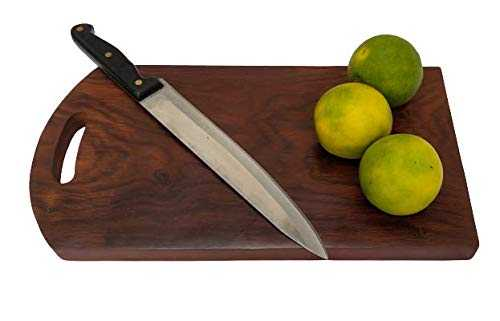 Konakc Chopping Board with Antibacterial Surface and Reversible Usage