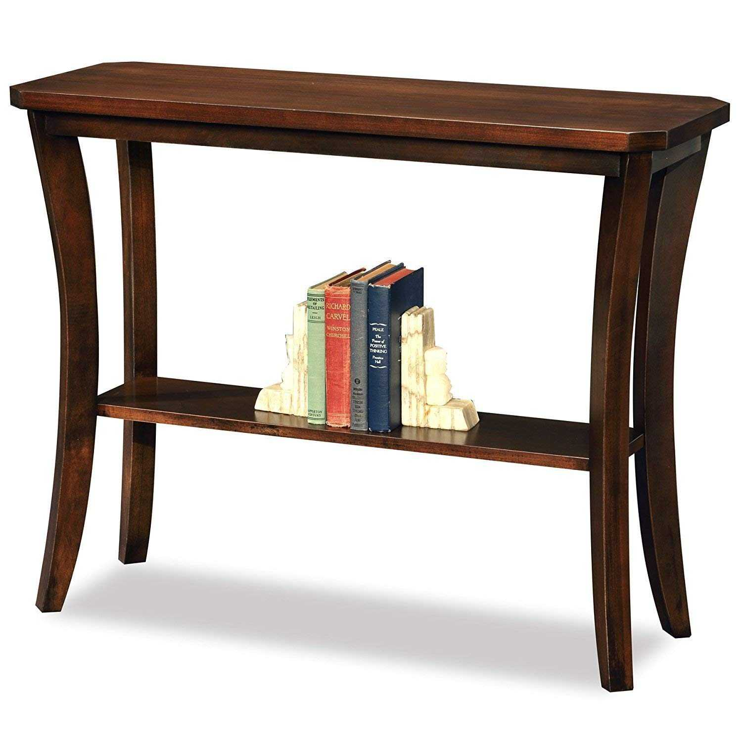 Kinpli Consol Table , console table decoration for Living Room (Dark Brown)