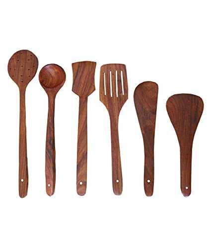 Cucol Sheesham Wood Cutlery Set