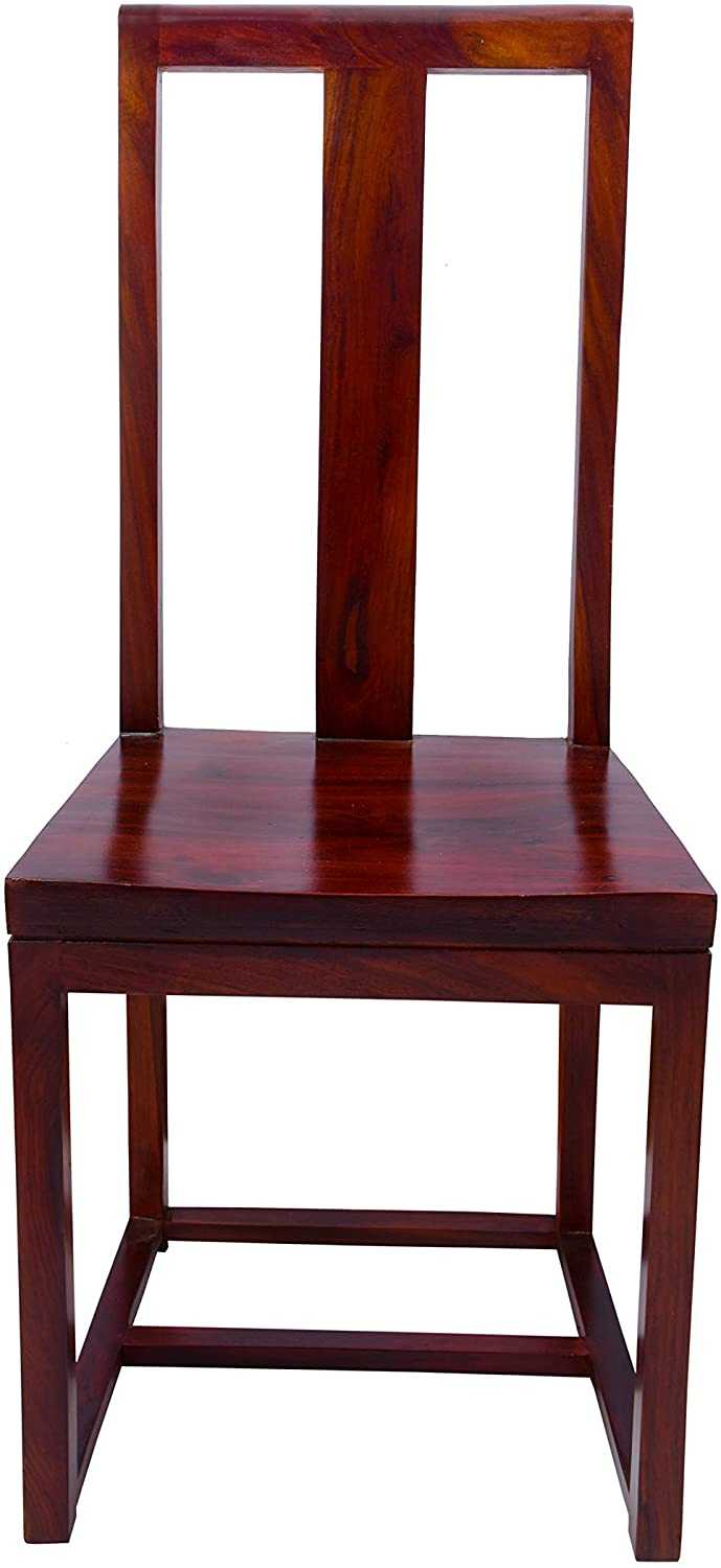 Ijeko  Mango Wood Dining Chairs for Home (Honey)