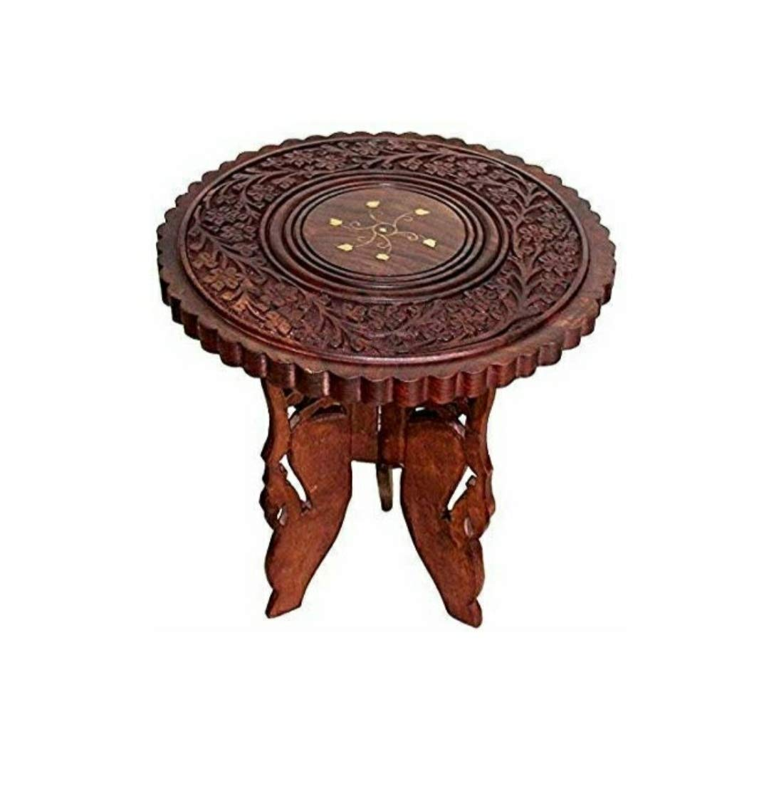 Ziddey Wooden Table End Coffee Table for Living Room