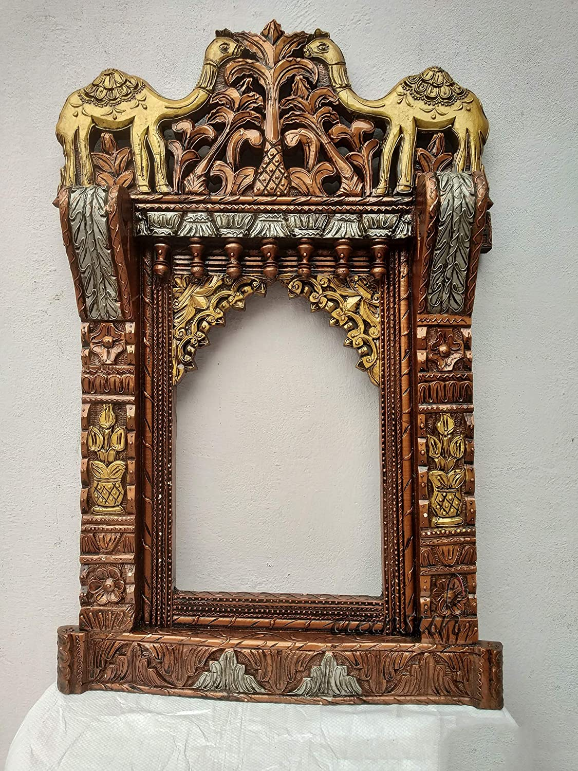 Pamkol  Wooden Jharokha/Wood Frame Home Decor