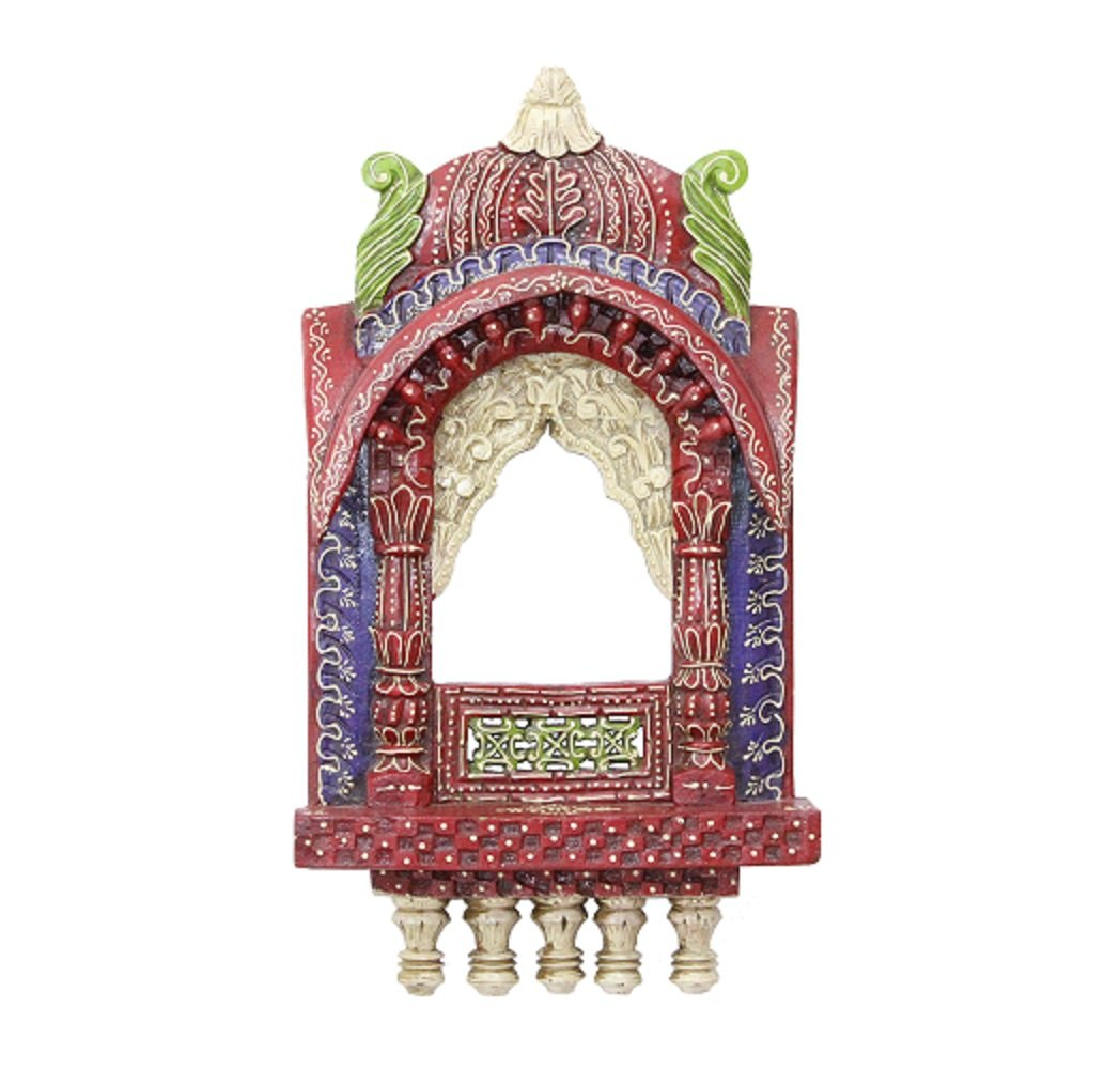 Hoki wooden Best Indian Decorative wooden jhrokha are Designed for Your Perfect house or any Other Place