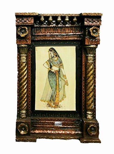 Rozam Wooden Rajasthani Traditional Wooden Jharokha