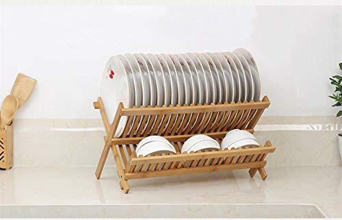 Vokehbi  Sterling Dish Racks for Kitchen with Tray Large Size Drainer for Drying Over