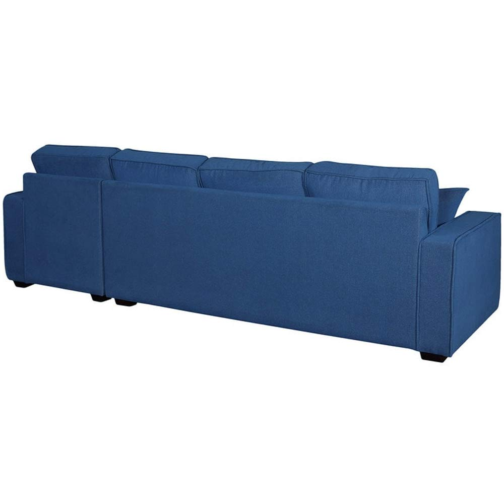 Hasroly l shape sofa is designs latest (Blue)