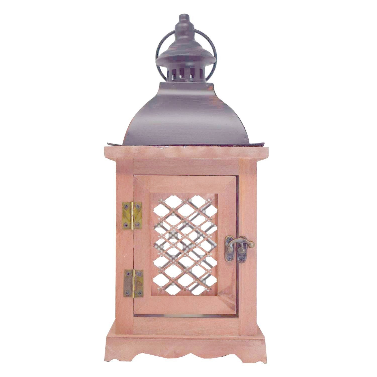 Codine wooden  Metal Top Wooden, lantern antique