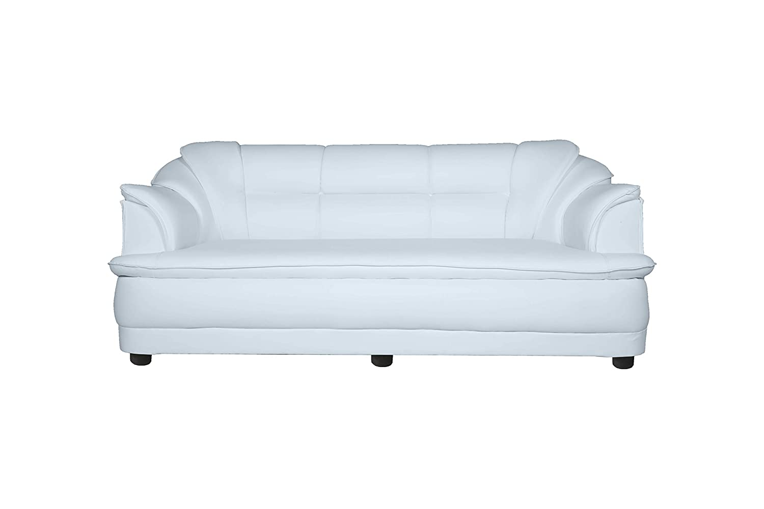 Cusery  3 seater sofa design for home [Colour - White]