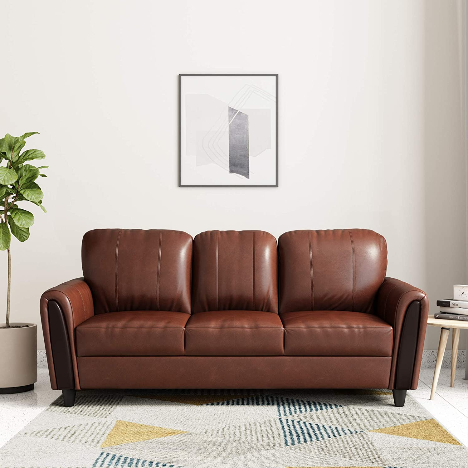 kolbor 3 seater sofa hometown  (Brown)