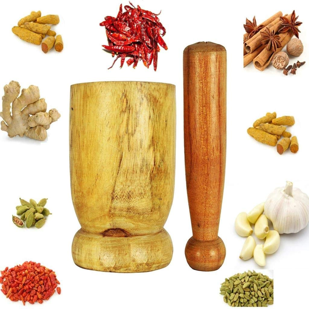 Jiache Musal/Mortar and Pestle Set
