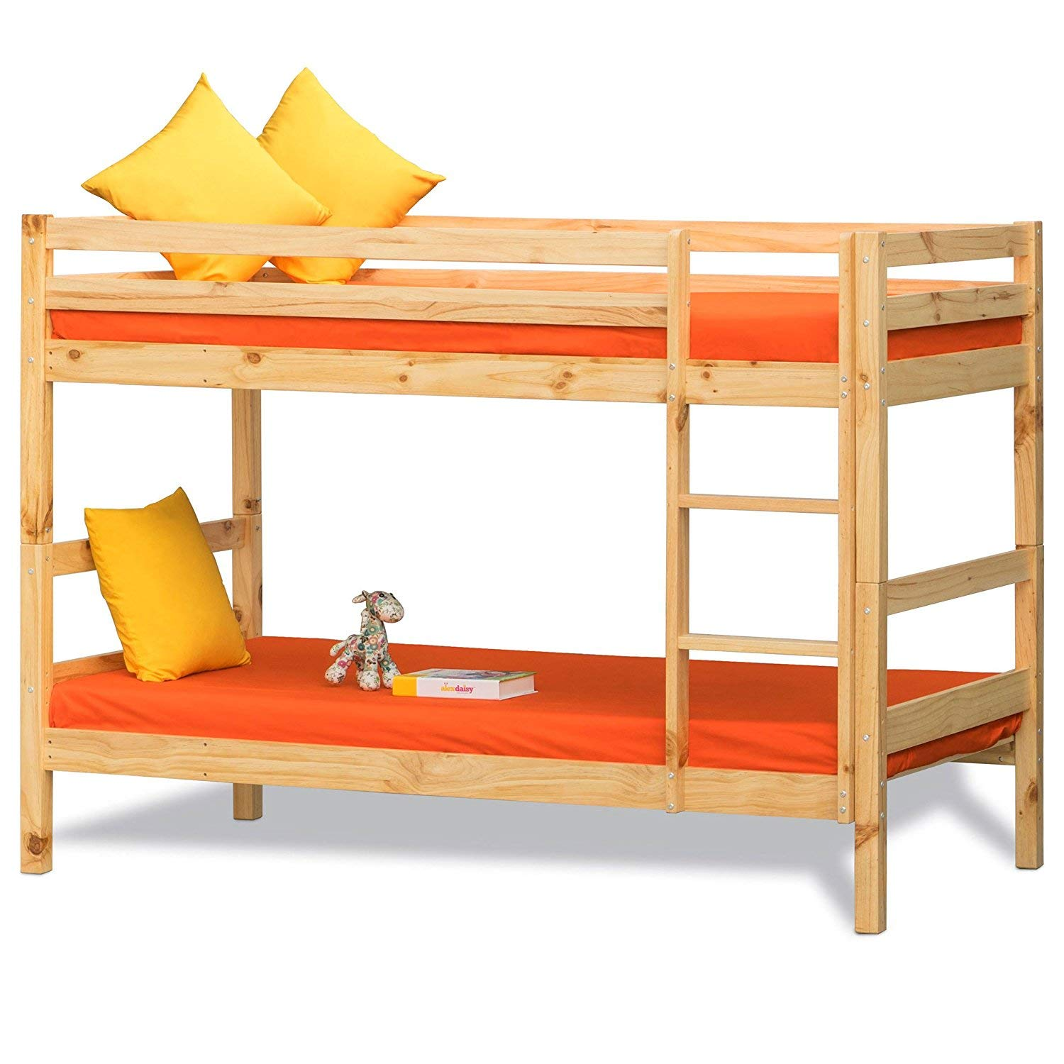 Ledaur bunk bed for girls Double Size Bunk Bed for Kids