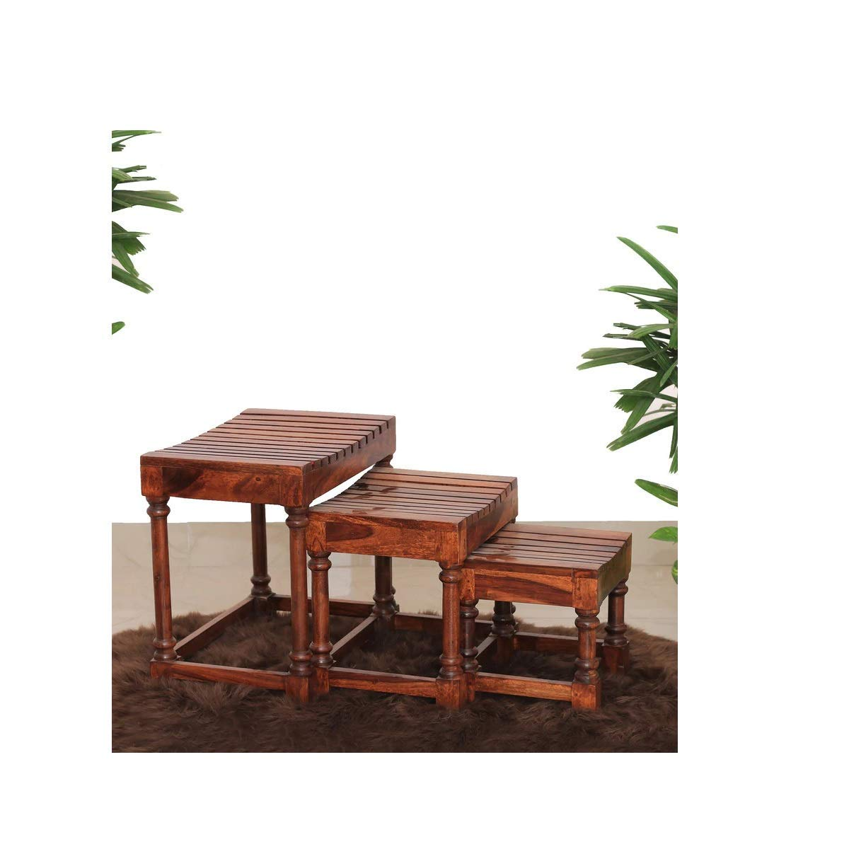 Zulbil nest table set of 3 ,Nest of Tables ,nest of tables for living room