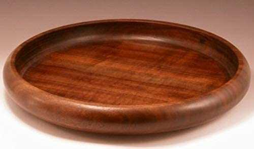 Icemo Sheesham  Wood Serving Platter/Plate/Tray(Honey finish)