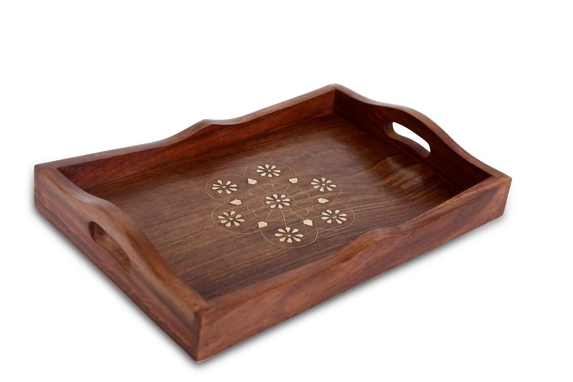 Setre Serving Tray for Kitchen, Dinning Table & Office Usage