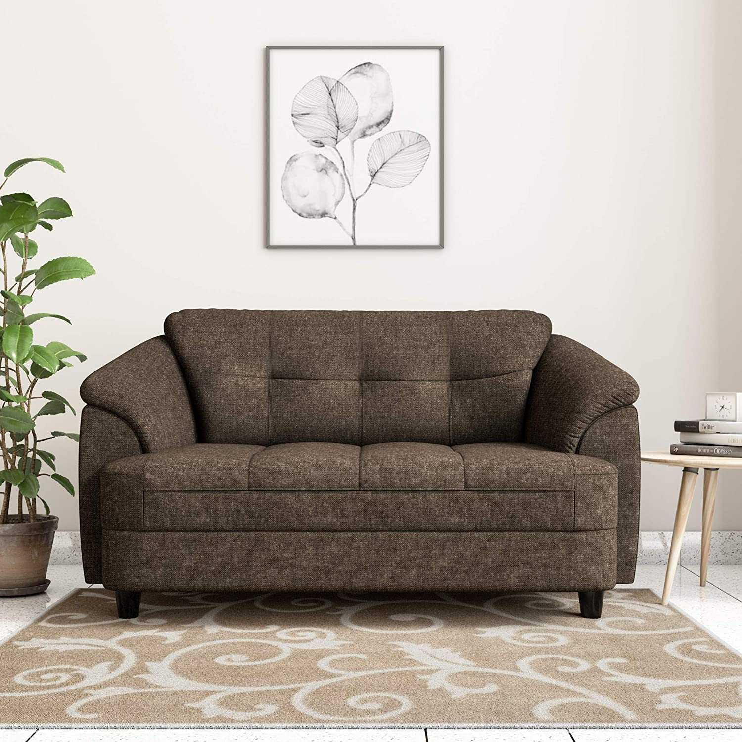 Shallo Fabric sofa 2 seater for Living Room