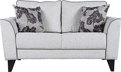Thallo Fabric sofa 2 seater for Living Room (Beige)
