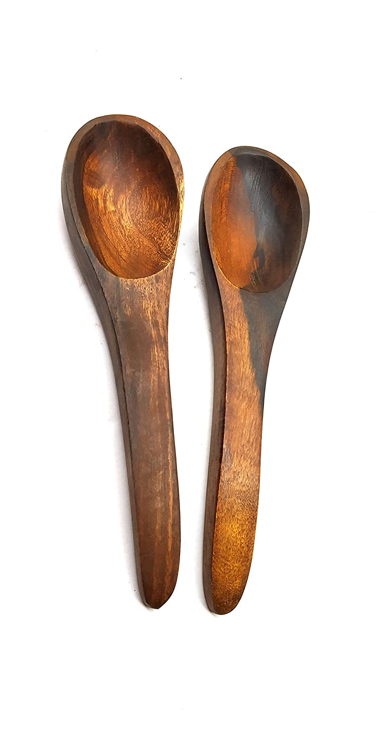 Ankiaj Healthy and Safe All Natural Soup Spoons