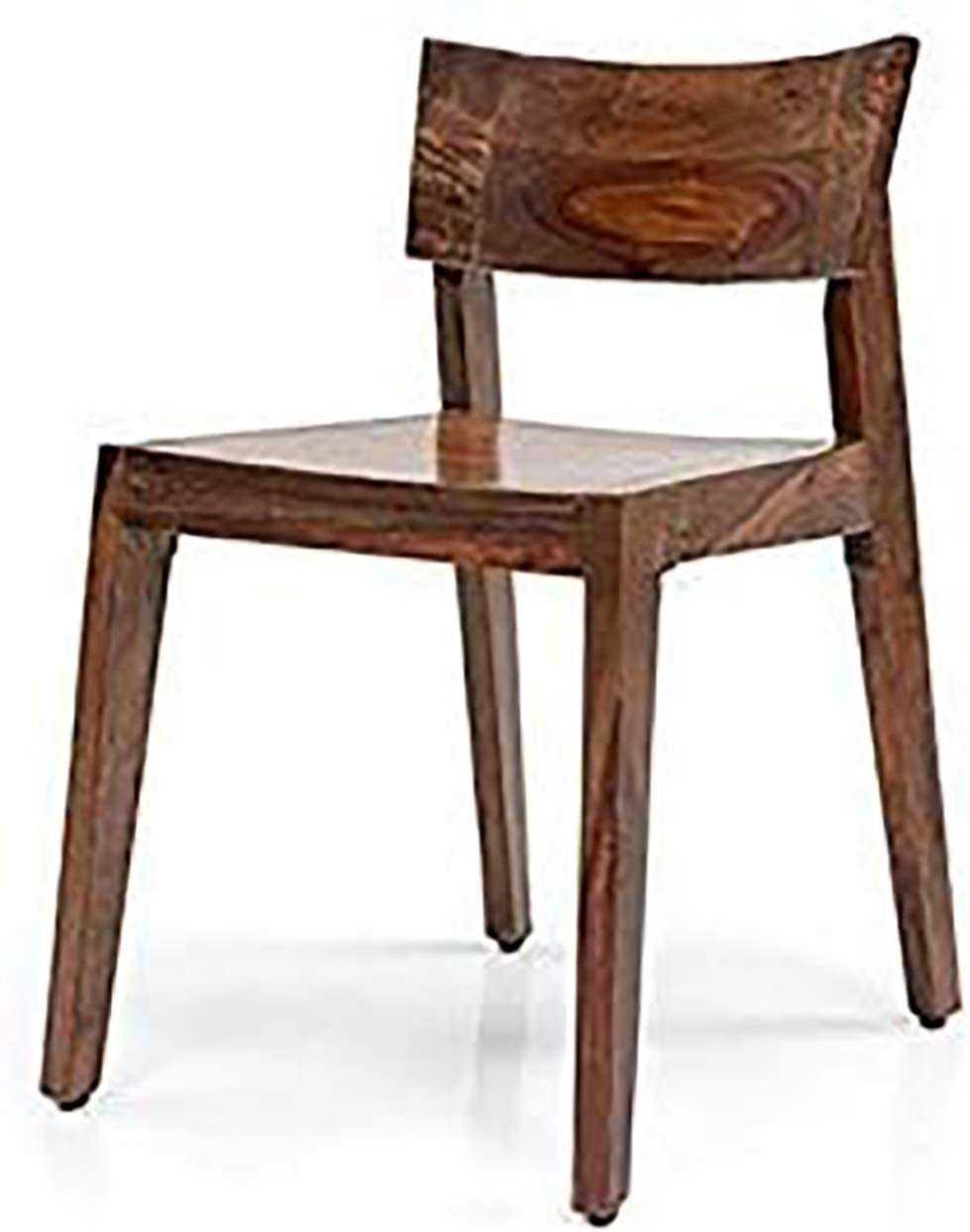 Boger sheesham wood study  chair for home (stone finish)