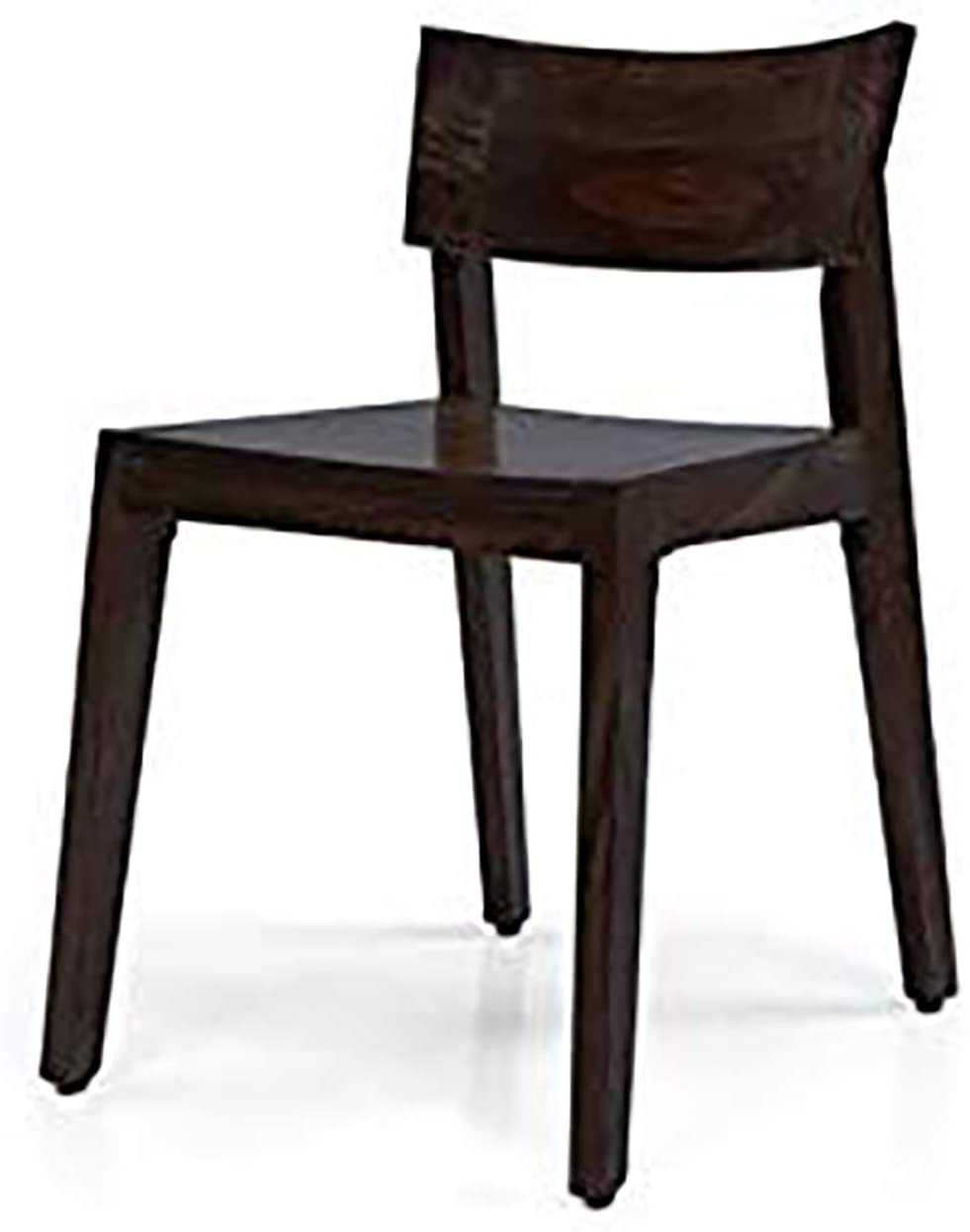 Boger sheesham wood study  chair for home (Black Oak Finish)