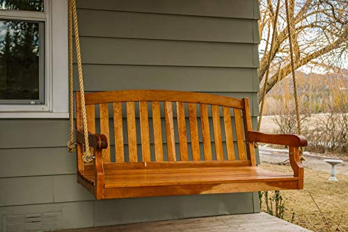 Prote Wooden Hanging Swing Chair