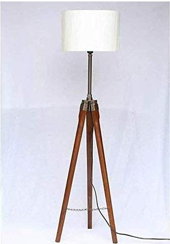 Vokeh  Tripod Floor Lamp Stand with Shade