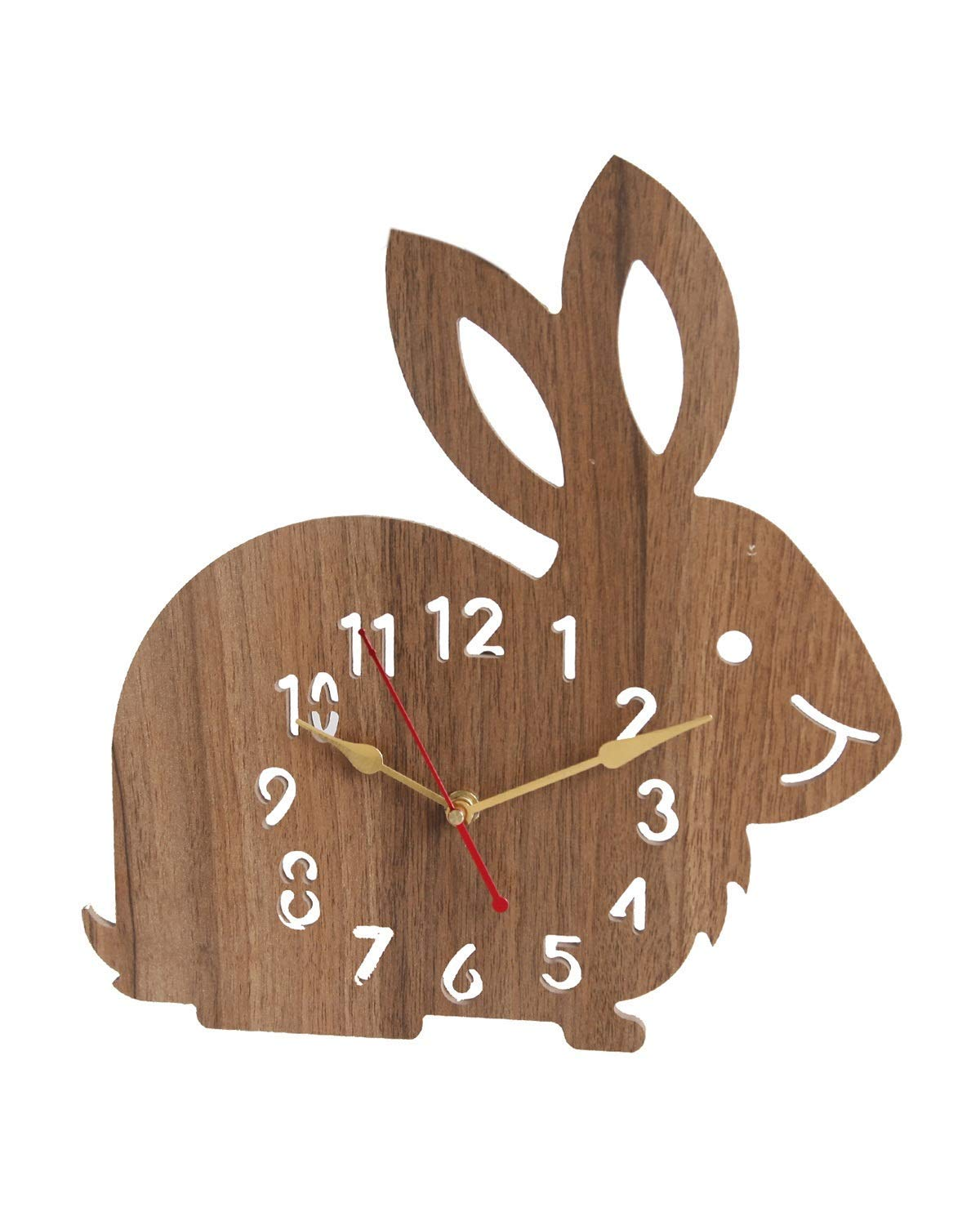 Diparu Decorative Wooden Wall Clock for Home