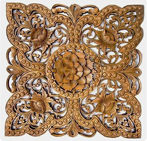 Bomkil Wood Wall Panel for wall (Brown)
