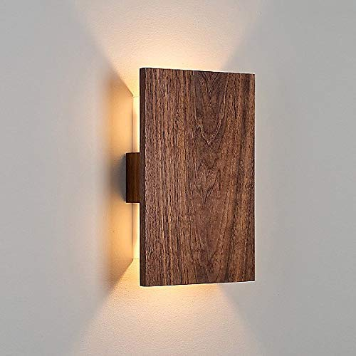 Hathek  Down Shadow Led Lamp Sconce Wall Mount